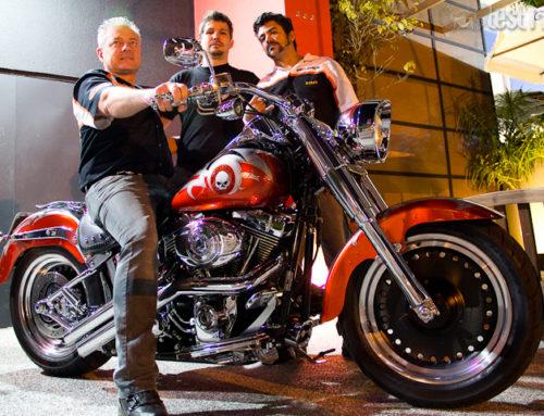 Uma Harley Davidson inconfundível