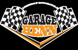 Garage Henn – Harley Specialists – Peças, Serviços e Performance Retina Logo