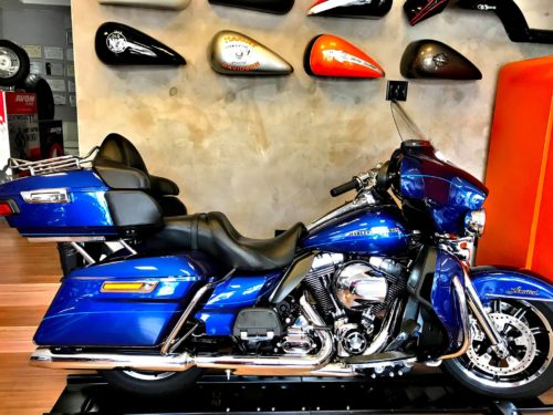 Electra Glide Ultra Limited 2015 azul