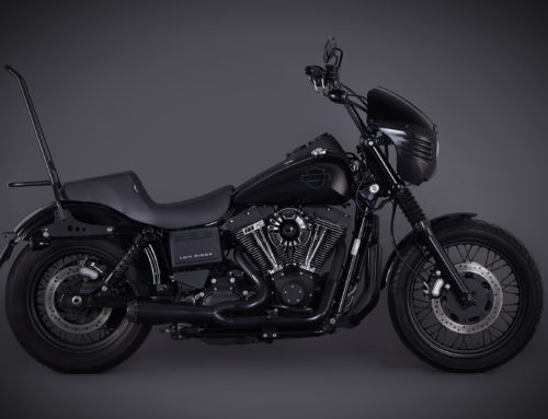 Dyna Low Rider Club Style com upgrade monstro de motor
